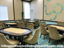Hold your cards close and bet big in Villaggio Reserves poker room