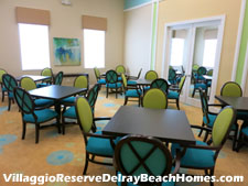 The Villaggio Reserve clubhouse has several card rooms - an ideal setup for accomodating schedules of various card-playing groups and clubs.